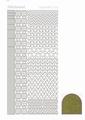 Hobbydots Sticker - Mirror - Gold STDM127 per vel