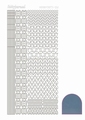 Hobbydots Sticker - Mirror - Ice STDM125 per vel
