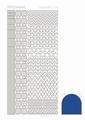 Hobbydots Sticker - Mirror - Blue STDM12A per vel