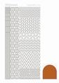 Hobbydots Sticker - Mirror - Copper STDM12B per vel