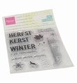 Marianne Design clear stamp Art Stamp Hallo Herfst MM1630