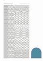 Hobbydots Sticker - Mirror - Turquoise STDM12D per vel