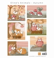 Marianne Design Knipvel Eline's Animals Autumn AK0080