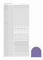 Hobbydots Sticker - Mirror - Violet STDM116