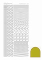 Hobbydots Sticker - Mirror - Yellow STDM11E per vel