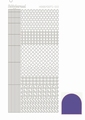 Hobbydots Sticker - Mirror - Purple STDM109