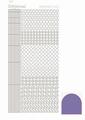 Hobbydots Sticker - Mirror - Violet STDM106