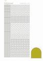 Hobbydots Sticker - Mirror - Yellow STDM10E