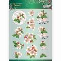 Jeanine's Art Knipvel Flowers - Pink Flowers CD11558