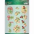 Jeanine's Art Knipvel Flowers - Mistletoe CD11555