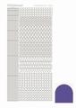 Hobbydots Sticker - Mirror - Purple STDM099 per vel