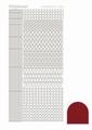 Hobbydots Sticker - Mirror - Red STDM094 per vel