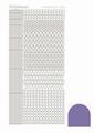 Hobbydots Sticker - Mirror - Violet STDM096
