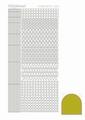 Hobbydots Sticker - Mirror - Yellow STDM09E per vel