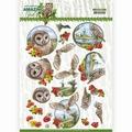 Amy Design knipvel Amazing Owls - Meadow Owls CD11565