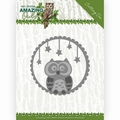 Amy Design Snijmal Amazing Owls - Night Owl ADD10219