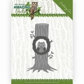 Amy Design Snijmal Amazing Owls - Owl in Tree ADD10218