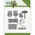 Amy Design Snijmal Amazing Owls - Owl Family ADD10217