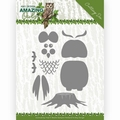Amy Design Snijmal Amazing Owls - Build up Owl ADD10216