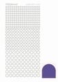 Hobbydots Sticker - Mirror - Purple STDM089