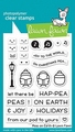 Lawn Fawn Clear Stamp Peas on Earth LF2421