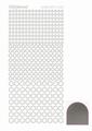Hobbydots Sticker - Mirror - Silver STDM088