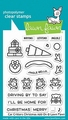 Lawn Fawn Clear Stamp Car Critters Add-on LF2423
