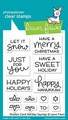 Lawn Fawn Clear Stamp Shutter Card Sayings LF2430