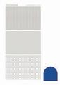Hobbydots Sticker - Mirror - Blue STDM07A per vel
