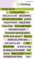 Craft Emotions Clear Stamp Tekst Spiritueel 130501/1320