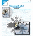 Joy Crafts Snijmal Sneeuwvlok Label 6002/1532