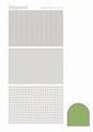 Hobbydots Sticker - Mirror - Lime STDM07C per vel