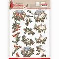 Amy Design knipvel Nostalgic Birds CD11560