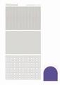 Hobbydots Sticker - Mirror - Purple STDM079