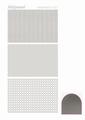 Hobbydots Sticker - Mirror - Silver STDM078 per vel