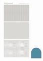 Hobbydots Sticker - Mirror - Turquoise STDM07D