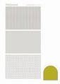 Hobbydots Sticker - Mirror - Yellow STDM07E per vel