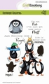 Craft Emotions Clear Stamp Penguin 1  130501/1693