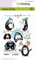 Craft Emotions Clear Stamp Penguin 2   130501/1694