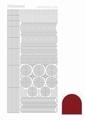Hobbydots Sticker - Mirror - Red STDM064