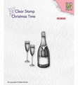 Nellie Snellen Clear Stamp Champagne CT039