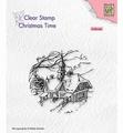 Nellie Snellen Clear Stamp Snowy Scene CT038