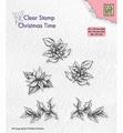 Nellie Snellen Clear Stamp Poinsettia CT036