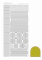 Hobbydots Sticker - Mirror - Yellow STDM06E per vel