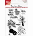 Joy! Crafts Clear Stamp Autumn Tree 6410/0525