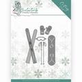 Yvonne Creations Die Winter Time - Ski Accessories YCD10219