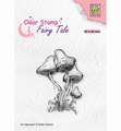 Nellie Snellen Clear Stamp Fairy Tale Mushrooms FTCS023