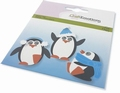Craft Emotions Snijmal Penguin 115633/0438