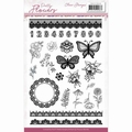 Precious Marieke Clear Stamp Pretty Flowers PMCS10046