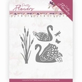 Precious Marieke Snijmal Pretty Flowers - Swans PM10192